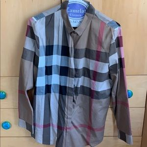 Burberry collared shirt